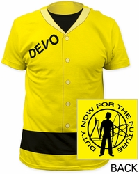 Devo t-shirt Duty Now traditional fit 30/1 cotton mens banana pre-order