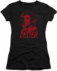 Dexter juniors t-shirt Born In Blood black
