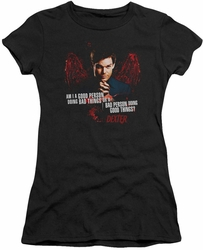 Dexter juniors t-shirt Good Bad black
