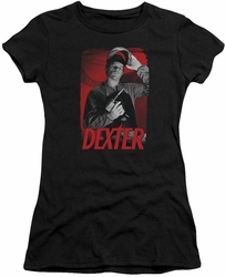 Dexter juniors t-shirt See Saw black
