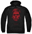 Dexter pull-over hoodie Bloody Face adult black