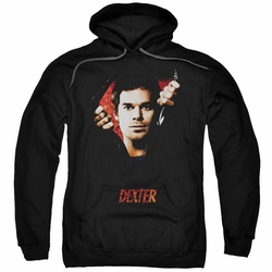 Dexter pull-over hoodie Body Bad adult black