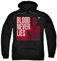 Dexter pull-over hoodie Cover adult black