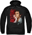 Dexter pull-over hoodie Layered adult black
