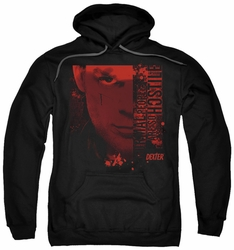 Dexter pull-over hoodie Normal adult black