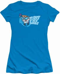 Dexter's Laboratory juniors t-shirt Get Out turquoise