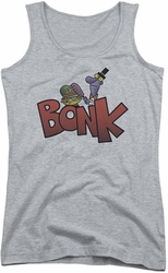 Dexter's Laboratory juniors tank top Bonk athletic heather