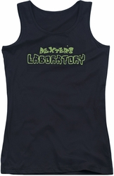 Dexter's Laboratory juniors tank top Dexter's Logo black