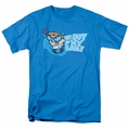Dexter's Laboratory t-shirt Get Out mens turquoise