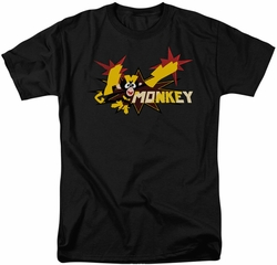 Dexter's Laboratory t-shirt Monkey mens black