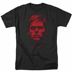 Dexter t-shirt Bloody Face mens black