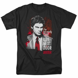 Dexter t-shirt Boy Next Door mens black