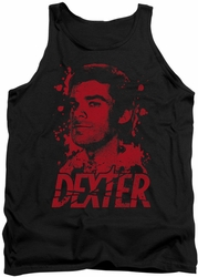 Dexter tank top Born In Blood mens black