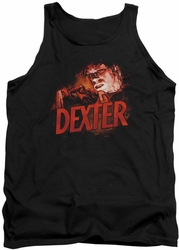 Dexter tank top Drawing mens black