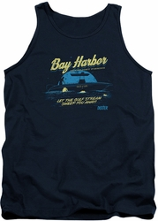 Dexter tank top Moonlight Fishing mens navy