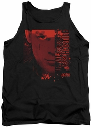 Dexter tank top Normal mens black