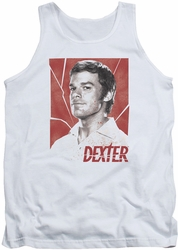 Dexter tank top Poster mens white