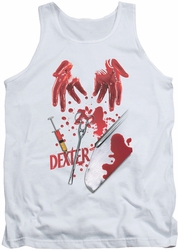 Dexter tank top Tools Of The Trade mens white