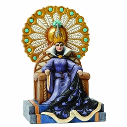 Disney Traditions Evil Queen on throne Figurine