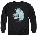 Doctor Mirage adult crewneck sweatshirt Circle Mirage black