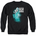 Doctor Mirage adult crewneck sweatshirt Crossing Over black