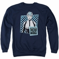 Doctor Mirage adult crewneck sweatshirt Good Doctor navy