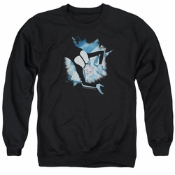 Doctor Mirage adult crewneck sweatshirt Mirage Burst black