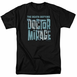 Doctor Mirage t-shirt Character Logo mens black