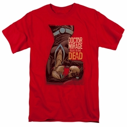 Doctor Mirage t-shirt Talks To The Dead mens red