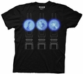 Doctor Who 3 Doctor Projections mens t-shirt pre-order