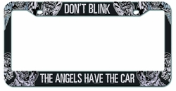 Doctor Who Angels Have The Car License Plate Frame pre-order