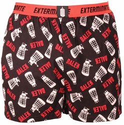 Doctor Who boxers Dalek print mens