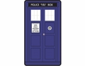 Doctor Who Classic Tardis Fleece Throw 50 by 89 inches