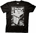 Doctor Who Comic Tardis Lost in Time and Space mens t-shirt pre-order