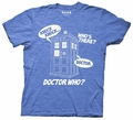 Doctor Who Knock Knock Whos There mens t-shirt pre-order