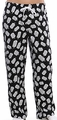 Doctor Who lounge pant White Logo all-over print mens black