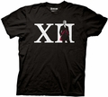 Doctor Who Roman Numeral with 12th Doctor mens t-shirt