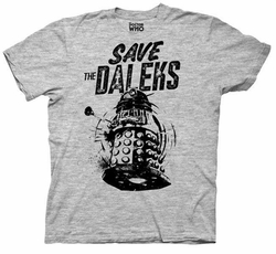 Doctor Who Save the Daleks mens t-shirt pre-order