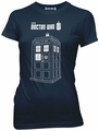 Doctor Who Series 7 Linear Tardis juniors t-shirt