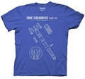 Doctor Who Sonic Screwdriver mens t-shirt pre-order