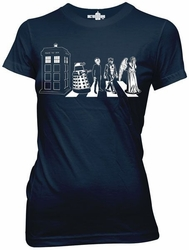 Doctor Who Street Crossing juniors t-shirt pre-order