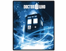 Doctor Who Tardis Gallifrey Fleece Throw