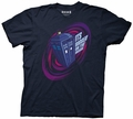 Doctor Who Tardis Its Bigger on the Inside mens t-shirt pre-order