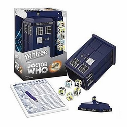 Doctor Who TARDIS Yahtzee game