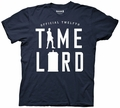 Doctor Who Time Lord Silhouette 12th Doctor mens t-shirt pre-order