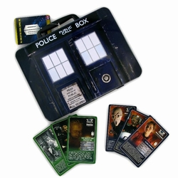 Doctor Who Top Trumps Tardis Lunchbox Tin