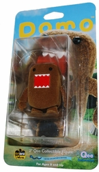Domo Qee 2 inch figure Classic Brown flocked