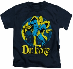 Dr. Fate kids t-shirt Ankh navy