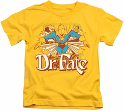 Dr Fate kids t-shirt Stars yellow