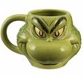 Dr. Seuss Grinch 18 oz. Ceramic Sculpted Mug